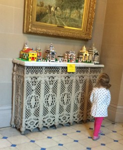 Little Girl enjoying LEGO